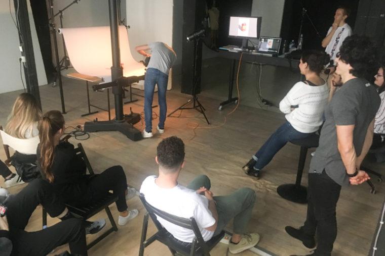 Workshop photographie pour des étudiants de l'IIM